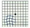Test griglia di Amsler per pucker maculare